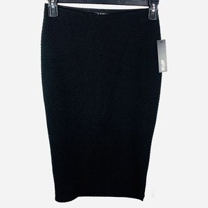 NWT Apt. 9 Women's Black Stretchy Pencil Skirt S